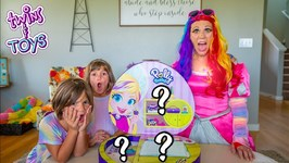 Giant Polly Pocket Compact Unboxing With Princess Lollipop And Twins Kate And Lilly