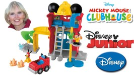 Mickey's Funny Firehouse Mickey Mouse Clubhouse
