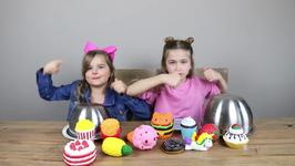 Squishy Food Vs Real Food Challenge - Ep 2