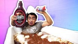 HOT CHOCOLATE BATH CHALLENGE