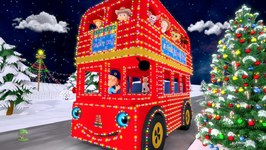 Christmas Wheels on the Bus - Kids Songs & Christmas Music - Cartoons for Babies
