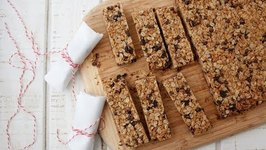 Chocolate Chip Granola Bars - Snack Recipes