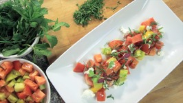 Watermelon Goat Cheese Salad - Rule Of Yum Recipe