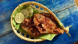 Pomfret Goan Masala Fish Fry - How To Make Tasty Pomfret Fish Fry