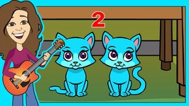 Kittens Children Song - 10 Little Kittens Counting By 2s - Cat song Cats