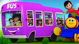 The Wheels On The Bus - Bob The Train Songs For Children