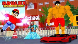 ROBLOX SUPER HERO HIGH SCHOOL - DONUT AND ROPO GET NEW SUPER HERO POWERS NEVER BEEN SSEEN BEFORE!