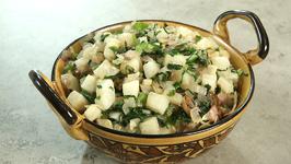 Mooli Ki Sabzi - Radish Recipe - How To Make Mooli Ki Sabji - Quick And Easy Recipe - Varun