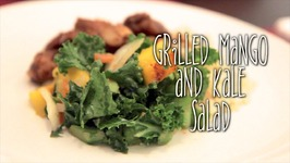 Grilled Mango And Kale Salad - Rule Of Yum Recipe