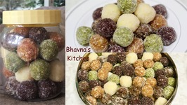 Homemade Candy Prasadam - Sweet Sour Patches / Truffles