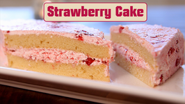 Strawberry Cake  Cake From Scratch  Beat Batter Bake With Priyanka