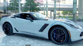 Corvette Carbon 65 for Auction at Barrett Jackson to benefit Bush Center Military Service Initiative