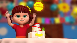 Elsa Celebrates Annas Birthday- Happy Birthday-Popular Children's Song