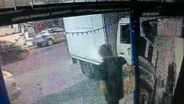 Truck in Sydney Veers Onto Footpath and Crashes Into Store Front