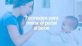 7 consejos Montessori para retirar el pañal al bebé