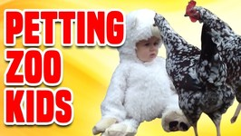 Petting Zoo Kids - Funniest Kids Compilation