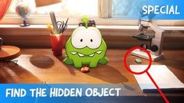 Find the Hidden Object Ep31 - Om Nom Stories- Time Travel - Cartoons for Children