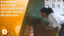 Watch Rihanna teach kids math in Malawi!