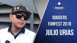 Dodgers 2018 FanFest - Julio Urias Close To Throwing, Feels - Really Good.