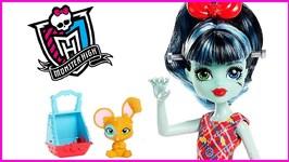 Monster High Family Alivia Stein Frankie Stein's Little Sister Doll Review