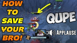 Qupe Pudge - HOW TO SAVE YOUR BRO - Dota 2