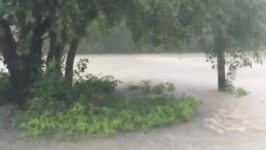 Heavy Rains Cause Flash Flooding in North-Central Oklahoma