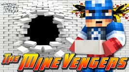 Minecraft MineVengers - HOLE IN THE WALL!!!