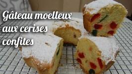 Recette Gâteau Moelleux Aux Cerises Confites