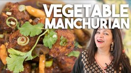 Vegetable Manchurian - Vegetarian Vegan Hakka style