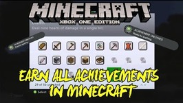 Minecraft Xbox One - HELP YOU EARN ALL MINECRAFT ACHIEVEMENTS