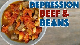 1930 Beans And Beef Depression Era Recipe - Old Cookbook Show