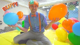 Kideo Joins Blippi At The Indoor Play Place - Educational Videos For Toddlers
