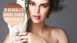 Kendall Admits Her Vogue Cover Is Fake