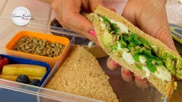 Healthy Kids School Lunch Ideas - Magic Apple Candy - Avocado Sandwich