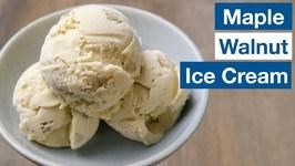 Maple Walnut Ice Cream
