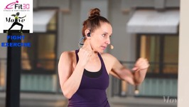 Fight Basics Fun Fast Fight Track - Claire - 10 Min Superset - Move123