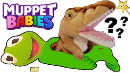 Who's Inside Mr Doh MUPPET BABIES KERMIT Belly? Win Surprise Toys Game