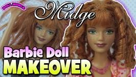 Barbie Doll Makeover Happy Family Midge Hadley Makeover