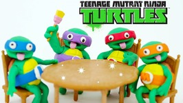 Softee Dough Teenage Mutant Ninja Turtles Nickelodeon PlayDoh TMNT