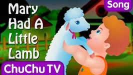 Mary Had A Little Lamb Nursery Rhyme With Lyrics - Cartoon Animation Rhymes and Songs for Children