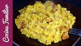 Paella de arroz para niños - Recetas caseras