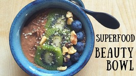 Vegan Smoothie Bowl For Beauty -Skin, Hair And Nails!