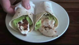 Seared Chicken Snack Wraps