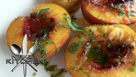 Grilled Nectarines With Syrup