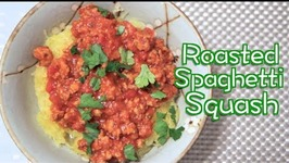 Roasted Spaghetti Squash -Basic Yums
