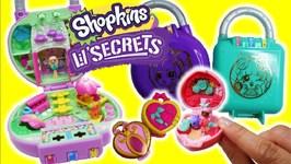 Shopkins Lil Secrets Lock And Locket Teeny Tiny Shoppies