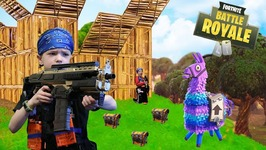 Nerf War - Fortnite Battle Royale In Real Life