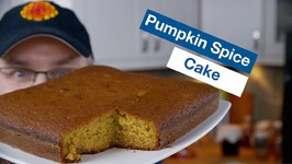 Glen's New Favourite Pumpkin Spice Cake