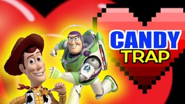 Toy Story 4 Valentines Candy Trap - Woody Buzz Minions