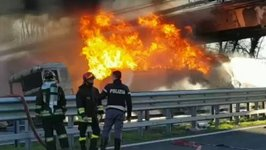 Deadly Tanker Crash on Northern Italy Highway